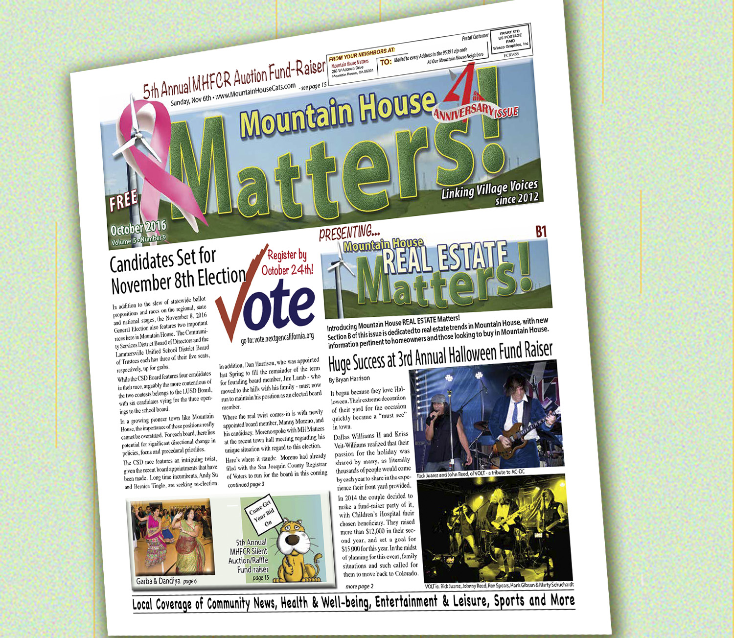 October 2016 Mountain House Matters