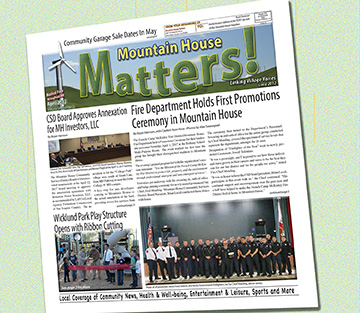 December 2016 issue - Mountain House Matters pdf file